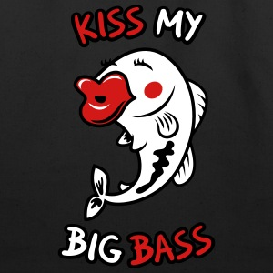 Kiss My Big Bass - Eco-Friendly Cotton Tote