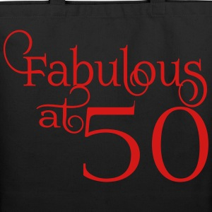 Fabulous at 50 - Eco-Friendly Cotton Tote