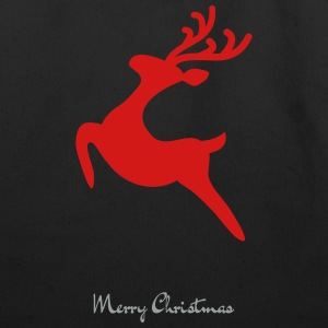 Caribou_8-_Merry_Christmas - Eco-Friendly Cotton Tote