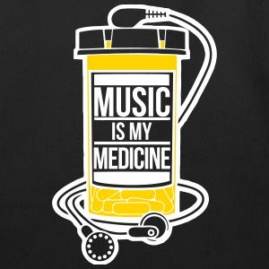 Music is my medicine - Eco-Friendly Cotton Tote