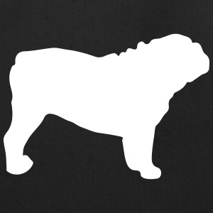 Bulldog Silhouette - Eco-Friendly Cotton Tote