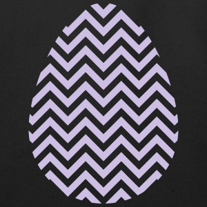 Easter Egg Chevron Purple - Eco-Friendly Cotton Tote