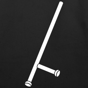 Police stick - club - weapon - Eco-Friendly Cotton Tote