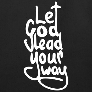 Let God Lead Your Way (no outline) - Eco-Friendly Cotton Tote