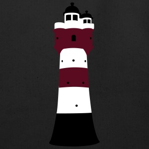 Lighthouse Roter Sand - Eco-Friendly Cotton Tote
