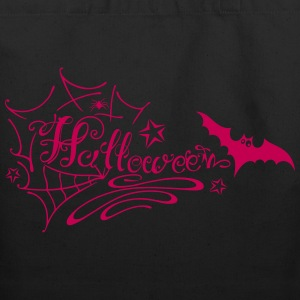 Halloween Lettering - Eco-Friendly Cotton Tote