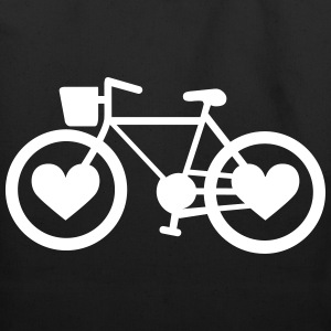 Bike Love - Eco-Friendly Cotton Tote