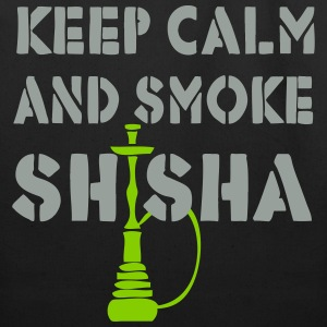 KEEP CALM AND SMOKE SHISHA! - Eco-Friendly Cotton Tote