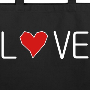 he_art_love - Eco-Friendly Cotton Tote
