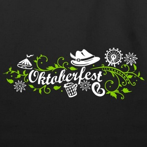 Oktoberfest decoration with traditional elements - Eco-Friendly Cotton Tote