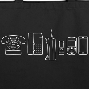 Evolution of Phone - Eco-Friendly Cotton Tote