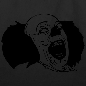 Evil Clown - Eco-Friendly Cotton Tote