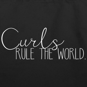 Curls Rule the World - Eco-Friendly Cotton Tote