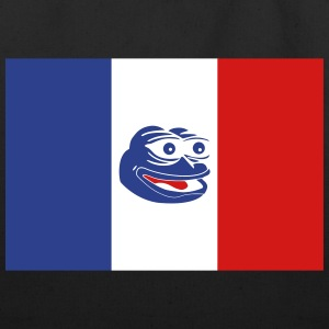 French Pepe the Frog - Eco-Friendly Cotton Tote