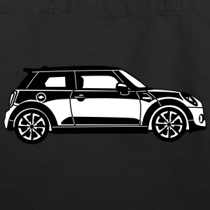 New Mini Cooper - Side View - Eco-Friendly Cotton Tote