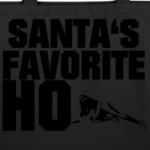 Santa's Favorite Ho - Eco-Friendly Cotton Tote