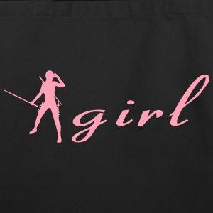 Ninja Girl - Eco-Friendly Cotton Tote