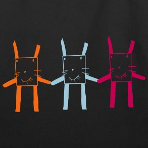 square rabbit brothers - Eco-Friendly Cotton Tote