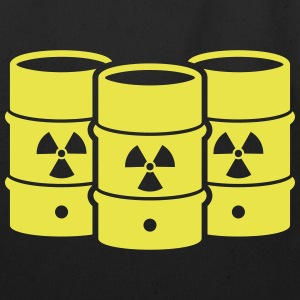 Nuclear waste - say no! - Eco-Friendly Cotton Tote