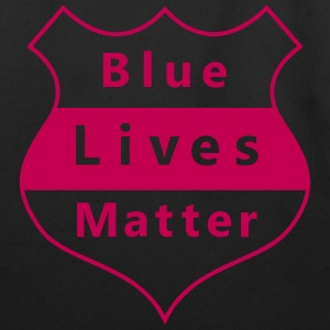 Blue Lives Matter - Eco-Friendly Cotton Tote