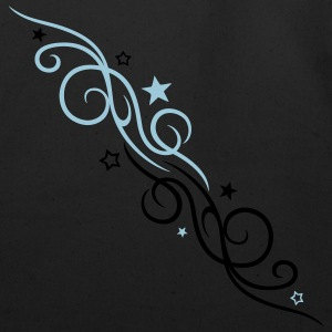 Filigree tribal with stars - Eco-Friendly Cotton Tote