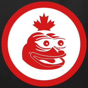 Canadian Pepe the Frog Flag - Eco-Friendly Cotton Tote