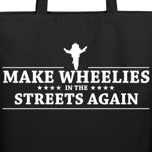MAKE WHEELIES - Eco-Friendly Cotton Tote