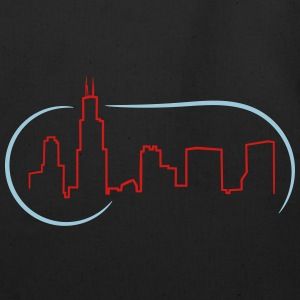 Chicago Skyline - Eco-Friendly Cotton Tote
