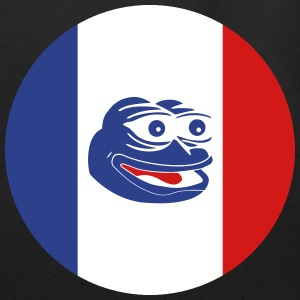 French Pepe the Frog Round - Eco-Friendly Cotton Tote