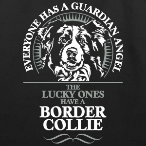 GUARDIAN ANGEL BORDER COLLIE - Eco-Friendly Cotton Tote