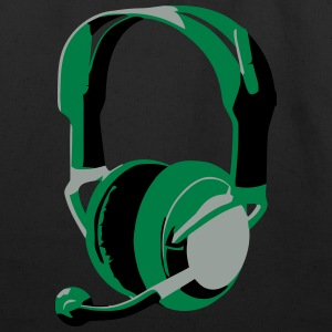 Gaming Headphones - Eco-Friendly Cotton Tote