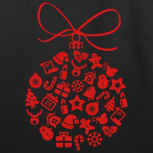 Christmas_ball - Eco-Friendly Cotton Tote