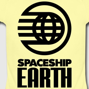 SPACESHIP EARTH - Short Sleeve Baby Bodysuit