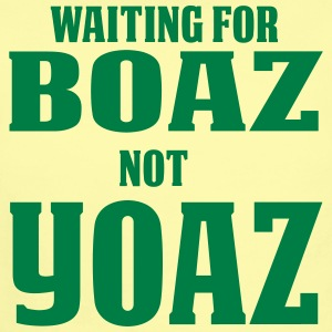 Waiting for Boaz Not Yoaz - Short Sleeve Baby Bodysuit