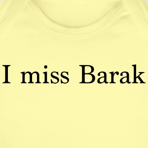 I miss Barak - Short Sleeve Baby Bodysuit