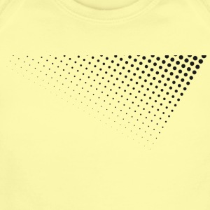 dots graphic - Short Sleeve Baby Bodysuit