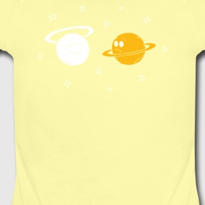saturn - Short Sleeve Baby Bodysuit
