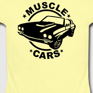 Muscle Car - Short Sleeve Baby Bodysuit