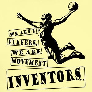 Basketball Movement inventors - Short Sleeve Baby Bodysuit