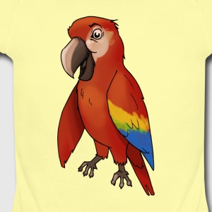 parakeet finch budgerigar budgie parot dove bird - Short Sleeve Baby Bodysuit