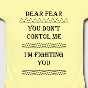 Dear Fear Triangles #1 - Short Sleeve Baby Bodysuit