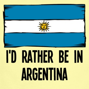 I'd Rather Be In Argentina - Short Sleeve Baby Bodysuit