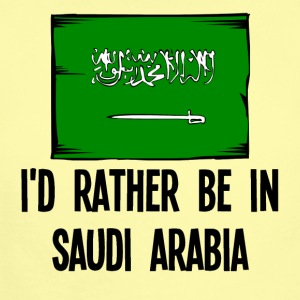 I'd Rather Be In Saudi Arabia - Short Sleeve Baby Bodysuit