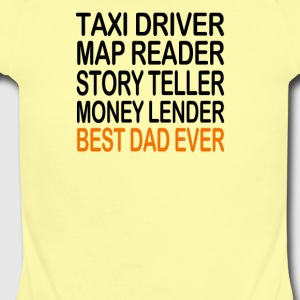 Best Dad Ever Fathers Day Birthday Present Gift Me - Short Sleeve Baby Bodysuit