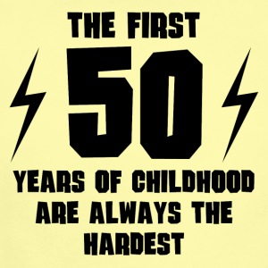 The First 50 Years Of Childhood - Short Sleeve Baby Bodysuit