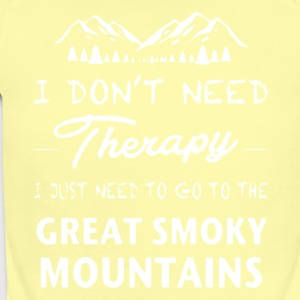Great Smoky Mountains Shirt - Short Sleeve Baby Bodysuit