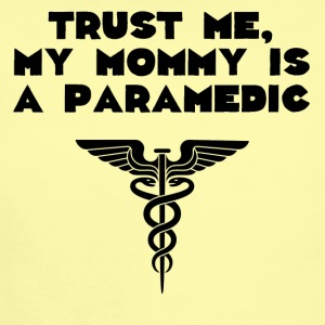 My Mommy Is A Paramedic - Short Sleeve Baby Bodysuit