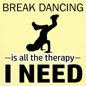 Break Dance is my therapy - Short Sleeve Baby Bodysuit