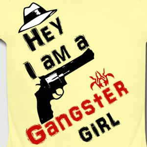 Ganster girl - Short Sleeve Baby Bodysuit