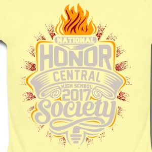 NATIONAL CENTRAL HIGH SCHOOL 2017 - Short Sleeve Baby Bodysuit